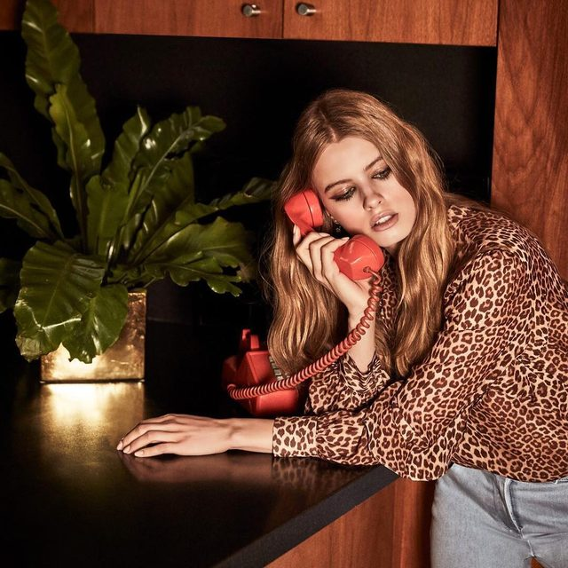 Monday is calling | shop our Jayne leopard print top available now at the link in our bio