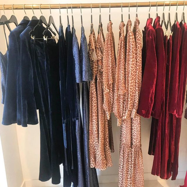 Our Fall color palette at our @palisadesvillage store