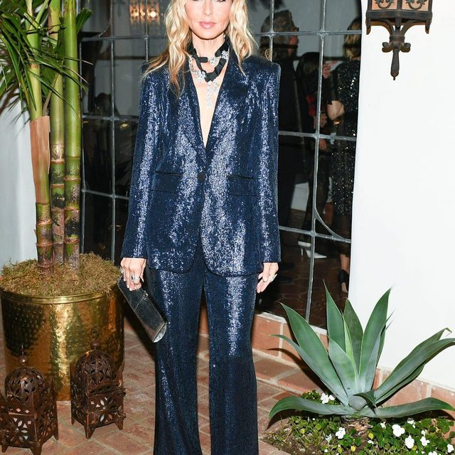 Boss look by @rachelzoe | our Rixey blazer and Maida pant are shoppable now at the link in our bio