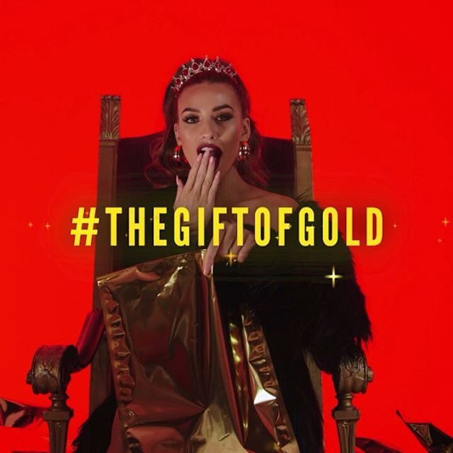MAKE THIS YOUR BEST CHRISTMAS YET ✨✨✨ • Make an order between now and the 31st, and if you get your new stuff in a gold bag, then congrats babe - YOU'VE WON YOUR ENTIRE ORDER BACK! 👈 • Visit our bio link to get shoppin' new in 🛒 #TheGiftOfGold (T&Cs apply: https://bit.ly/2G3lvyn).