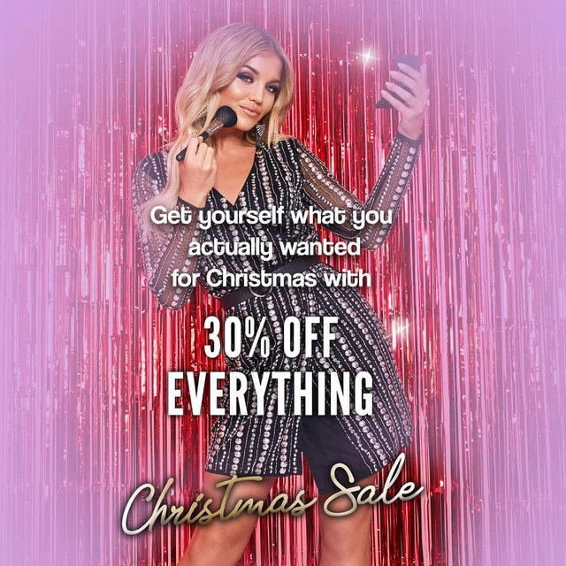 Get yourself what you actually wanted for Christmas 🎄🎄🎄 Take 30% off EVERYTHING rn! Shop from the top link.