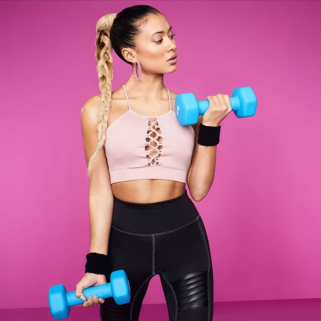 Can't stop, won't stop 👊 Shop @kazcrossley's FIT range from the top link or via Stories 💘💘💘 #KAZxFIT