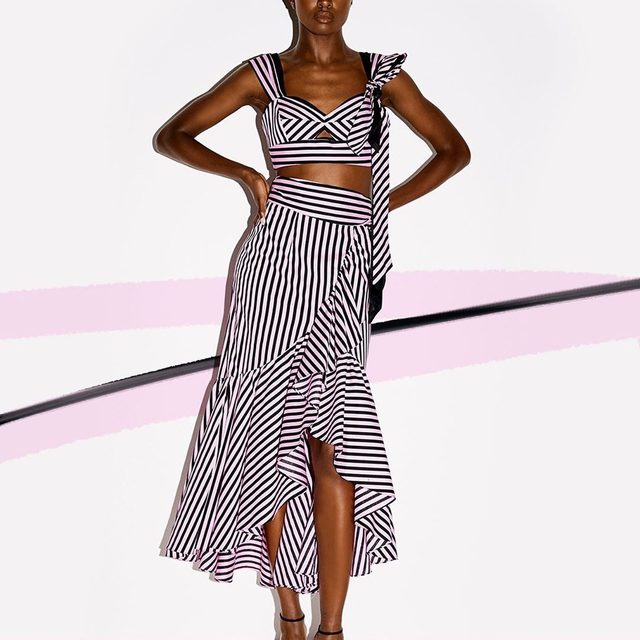 STRIPE A POSE 💁♀️💓 Shop link in bio! #pink #resort19 #MILLYmoment