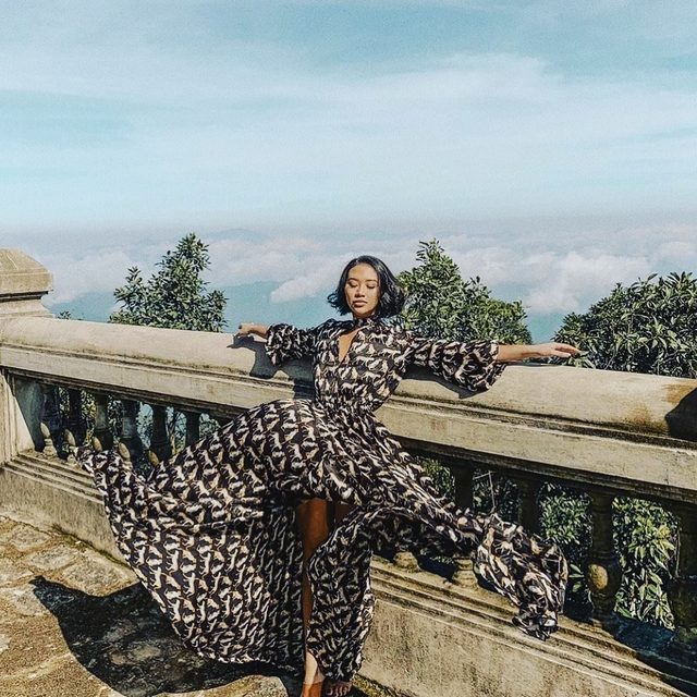 Easy breezy thanks to @thegreylayers 🐆  #cheetah #fall18 #MILLYmoment